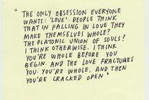 words of wisdom.  / by sara marie