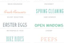 FONTS / by Katie Beth Owens