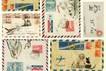 Mail Art & All Things Postal / by Sam