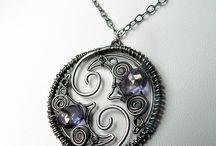 Wire jewelry / by Sammy Dolloff