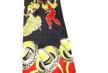 Mens Vintage Ties - Miss Kitty's Favorites! / Unique Vintage Neck and Bow Ties For Men- #Vintage Tie / by The Cats Pajamas