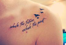 Tattoos / by Christina Rasmussen