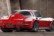 All Things Corvette / Board created to celebrate the Corvette, one of the greatest cars on the road--an American Classic! / by Kris Beldin
