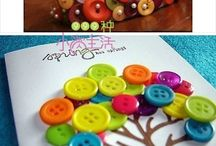button crafts / by Heidi Kasper