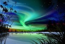 Northern Lights / by Peter Wallburg Studios