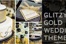 Glitzy Gold Wedding Theme / by invitesbyjen