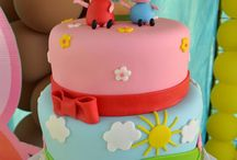 Lucie's Peppa pig'second bday party / by Marie FloresyFlores