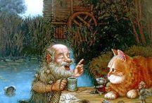 gnomes / by Sheila Lewandowski