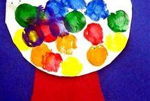 daycare crafts / by Marlene Tiesling