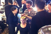 Backstage / Behind the scenes photos of work before it hits the runway. / by Kate Allen { hairwithkate.com }