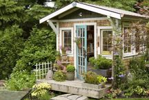 Garden Sheds / by Barb