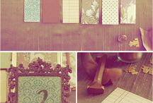 Table names/numbers / by Liselle Chisenhale-Marsh (Gaynes Park)