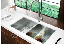 kitchen sink /faucet ideas / by sherrie mase