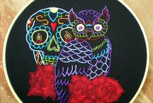 Day of the Dead / by My Owl Barn