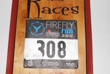 race bibs display / by Caryn Rowland