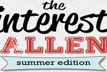 Pin interest/inspirational challenge / Pinterest challenges / by Julie Richards