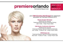 CND Premiere Orlando / Check out the images below to see what CND has in store for you at Premiere Orlando, (June 1-3, booth #6245) including great shopping, workshops with your favorite CND products, promotions and more! / by CND