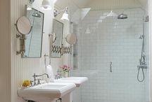 bathroom reno. ideas / by Suzanne Vennemeyer