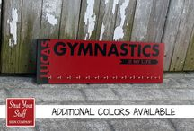 Gymnastic Medal Holder / by Strut Your Stuff Sign Co