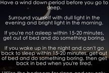 Sleep Your Way to Better Health / by Rebecca Scritchfield