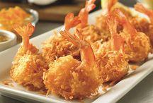 Coconut shrimp / by Nancy Conmy