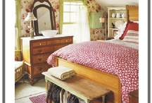 Country bedroom ideas / by Cathy Shelton