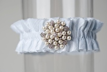 Light Blue Wedding Garters / by LaGartierWeddingGarters