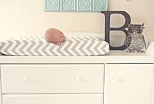 baby room / by Brittany Vizenor