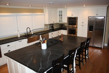 Soapstone Countertops / by Hoffman Kitchen and Bath