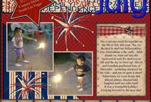 4th of July Layouts / by Tammy Avery
