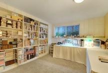 Craft Room Ideas / by Linda Taylor