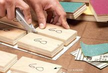Working with wood / by Mary Jane Valentine
