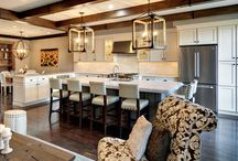 Light Bright / Lighting for my kitchen/dining room / by Krissy Gavett