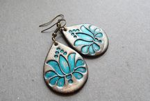POLY'S STAMPIN' MAD / POLYMER CLAY STAMPS / by Sharyn K.