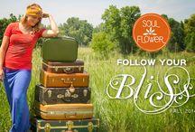 Follow Your Bliss: Soul Flower Lookbook / Soul Flower's Lookbook Follow Your Bliss: 1st in a series of fall fashion lookbooks / by Soul Flower (soulflower clothing)