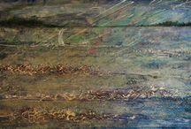 Art Exhibition at The Harbour Gallery, Whitwell, Rutland / This mixed media art exhibition is on until 21st October 2014. It features a wide range of work and some new work inspired by windsurfing on Rutland Water. / by Barbara Taylor-Harris Artist