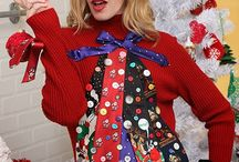 Ugly Christmas sweater / by Becky Ross
