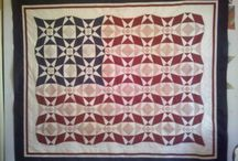 Quilts: Patriotic / by AgnesEthel QuiltPox