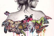 butterflies fly / by Jourdan Shockey