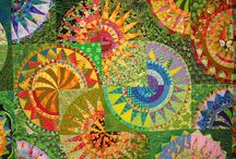 quilts and fiber art / by Kim Gibson