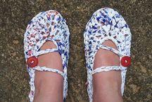 plastic bag crochet patterns / by Jeannie Warden