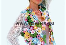 CROCHET jackets, vests,........mo / by Natela G
