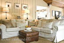 Home - Study/Family Room / by Deborah Lee