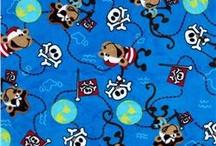 Blue pirate cuddle quilt ideas / by Tammi Orazem