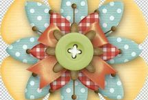 Scrapbook clip art and Embellishments 2 / by Rhonda Fogle