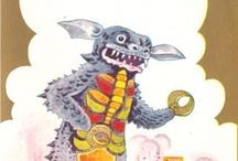 Kaiju /Giant Monsters / by Richard Disley