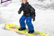 COOP Shredz / The COOP Sports Shredz snowboarding poseable action figures actually ride the snow! Makes for a great winter gift, Christmas present, or stocking stuffer. Available now from SwimWays!  / by SwimWays