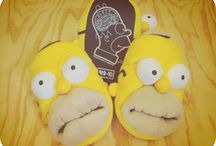 Homer Simpson Slippers / Slippers of Homer Simpson. / by Crazy For Bargains Pajamas