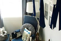 Blue Nursery Ideas and Inspiration / by Sweet Dreams My Child