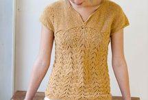knitting & crochet / by Tina Sanders